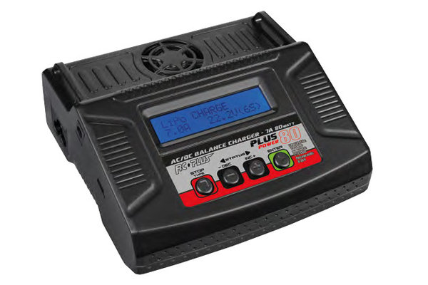 RcPlus Power Plus 80w lader