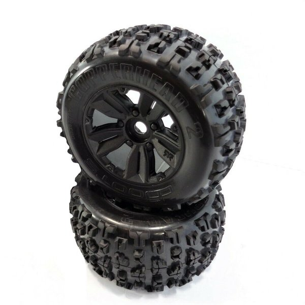 "Arrma 1:8 dBoots ""Copperhead2 MT"" 6s Wheel Set, (2)"