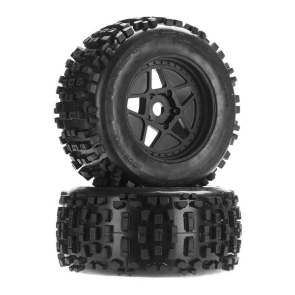 Arrma 1:8 dBoots ''Backflip MT'' 6S Wheel Set (2)