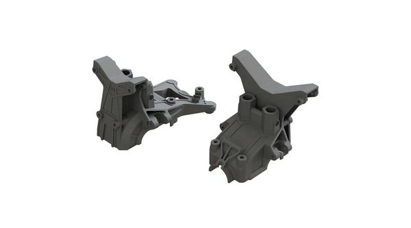 Composite Front Rear Upper Gearbox Covers and Shock Tower (ARAC4400 / AR320399)